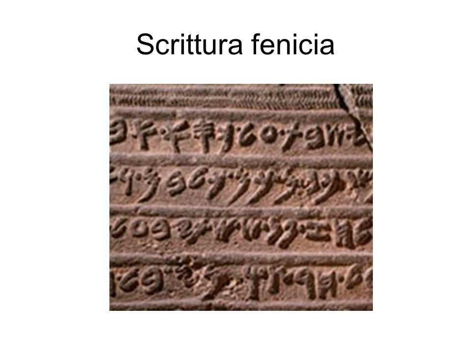 Scrittura fenicia