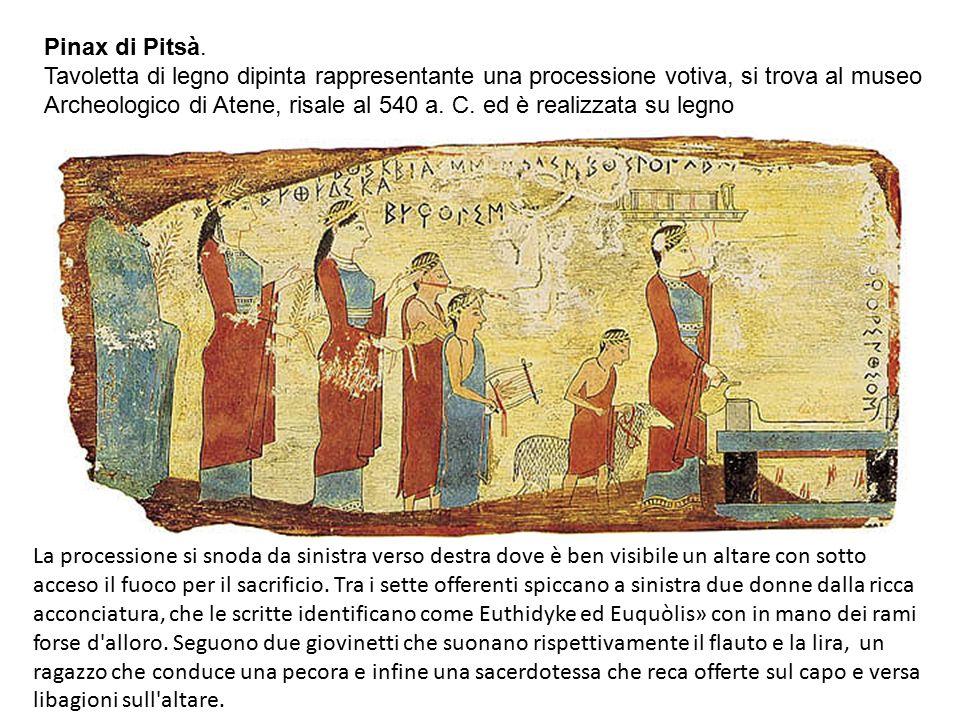 Pinax di Pitsà.