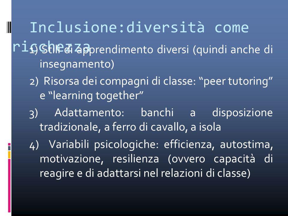 Inclusione:diversità come ricchezza
