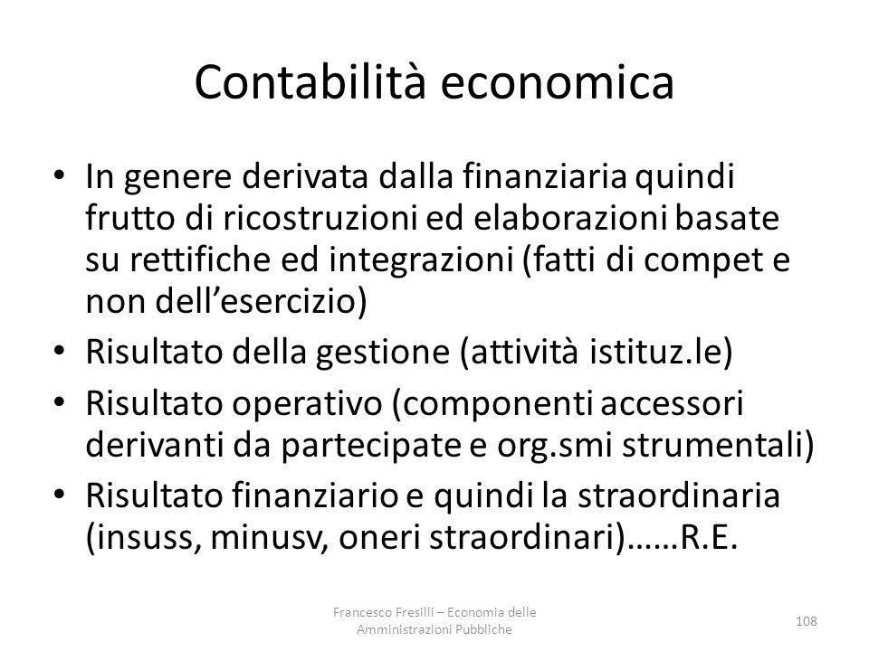 Contabilità economica
