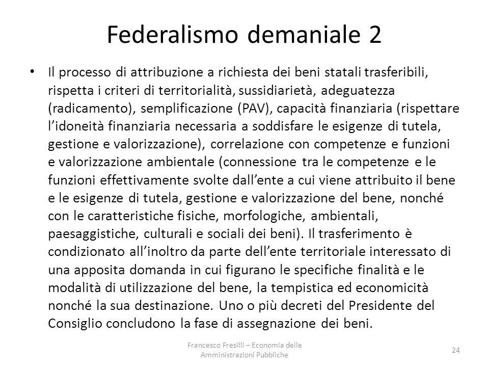 Federalismo demaniale 2