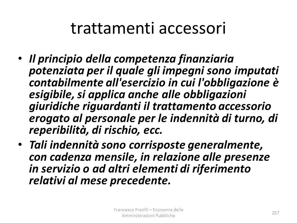 trattamenti accessori