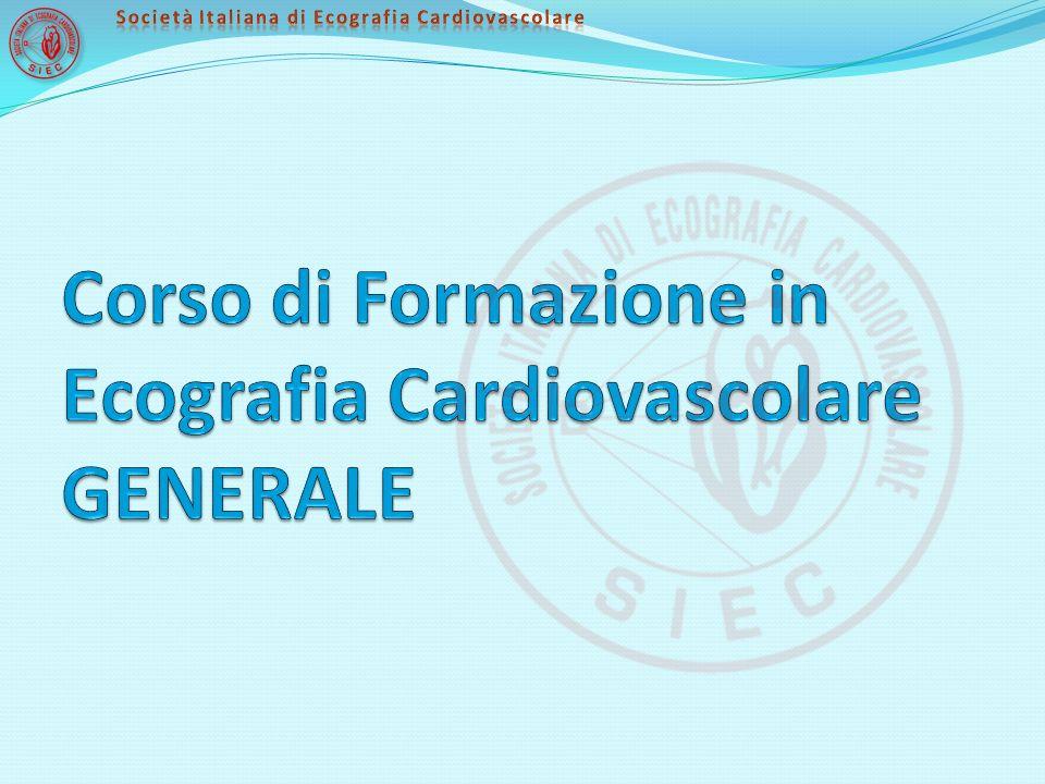 Corso di Formazione in Ecografia Cardiovascolare GENERALE
