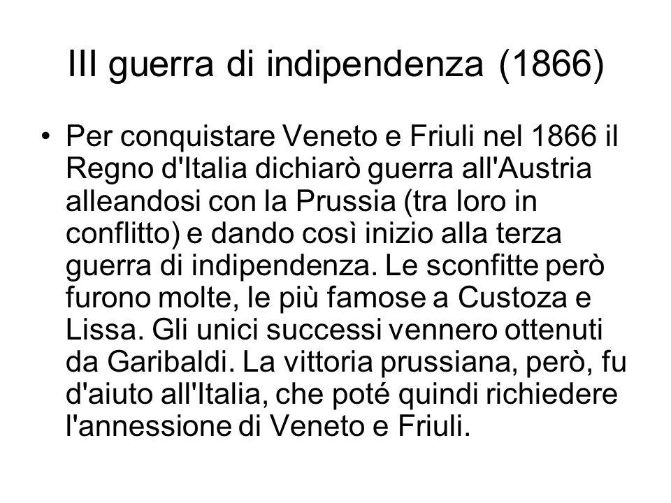 III guerra di indipendenza (1866)