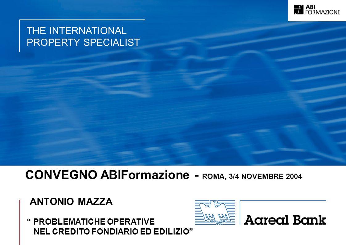 CONVEGNO ABIFormazione - ROMA, 3/4 NOVEMBRE 2004