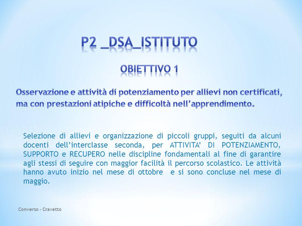 P2 _DSA_ISTITUTO OBIETTIVO 1