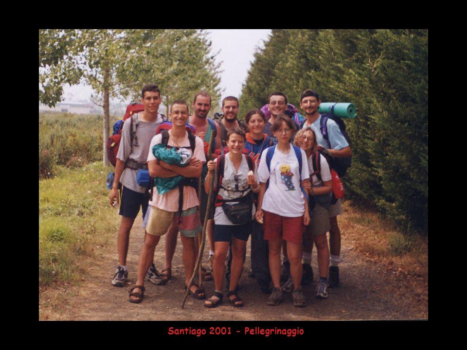 Santiago 2001 - Pellegrinaggio