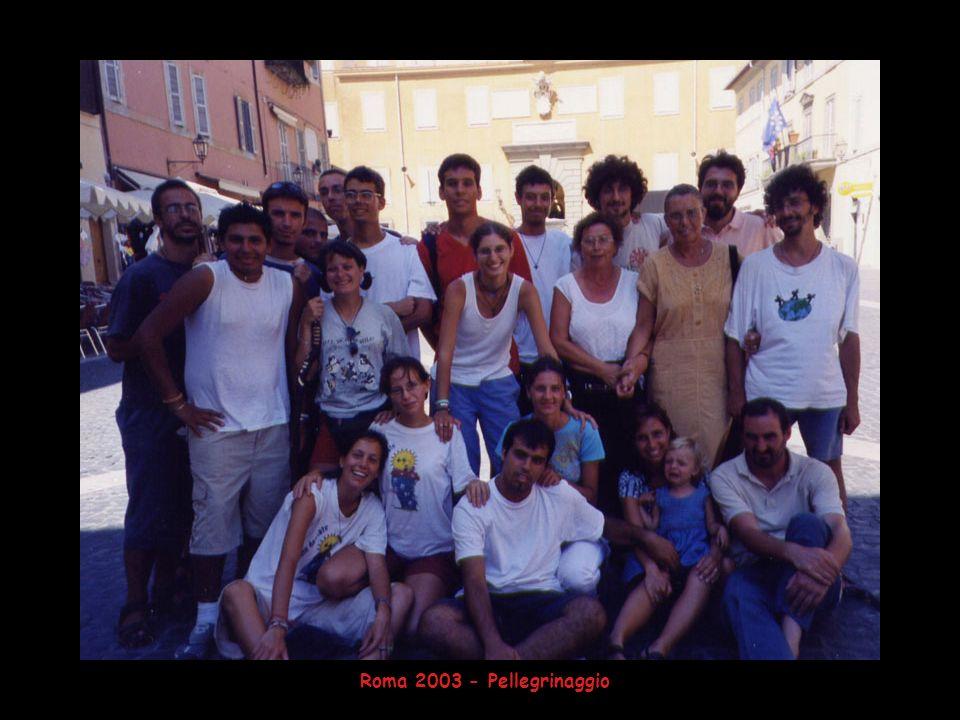 Roma 2003 - Pellegrinaggio