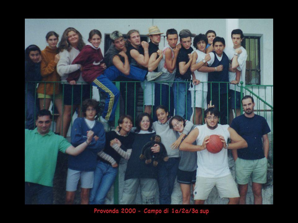 Provonda 2000 - Campo di 1a/2a/3a sup