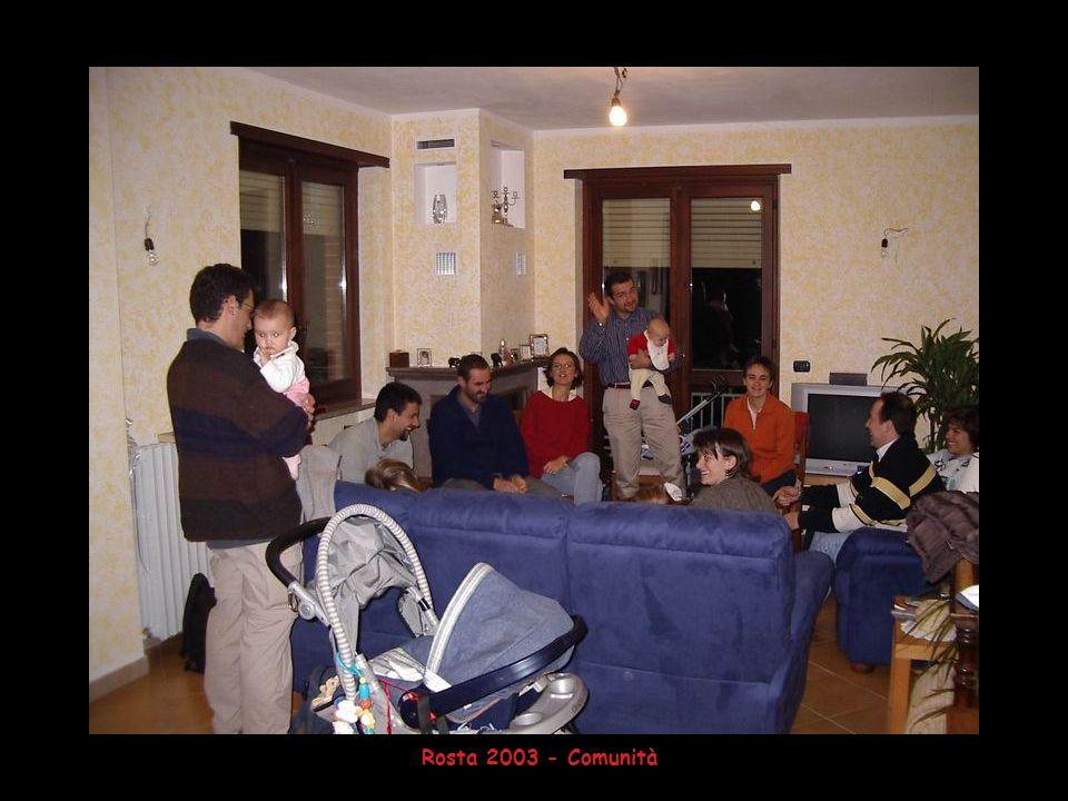 Rosta 2003 - Comunità