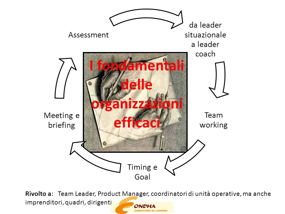 I fondamentali delle organizzazioni efficaci