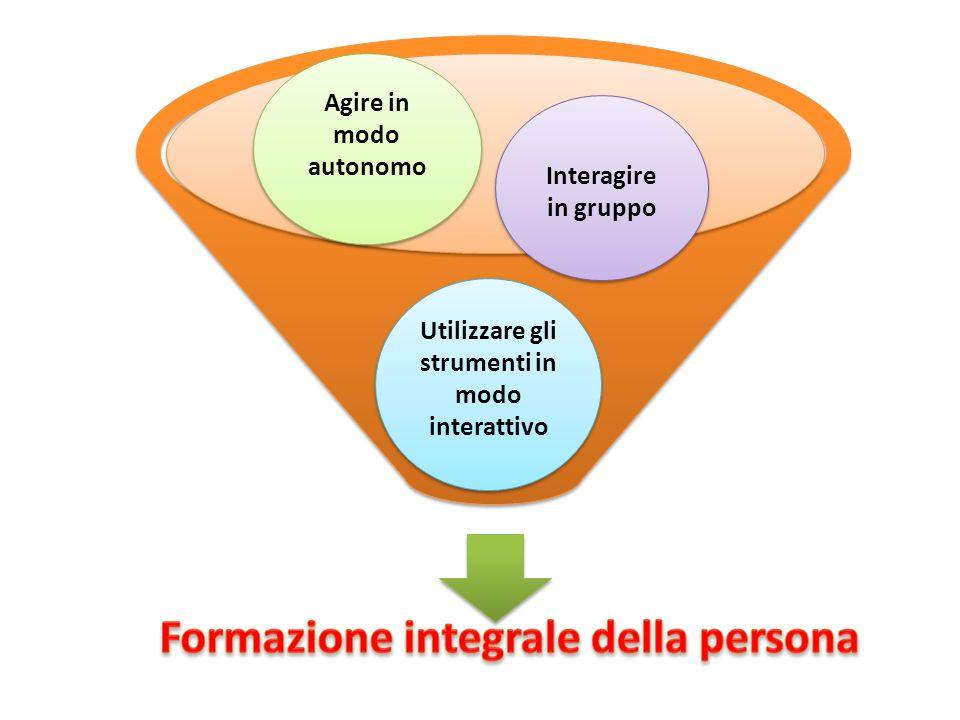 Formazione integrale della persona