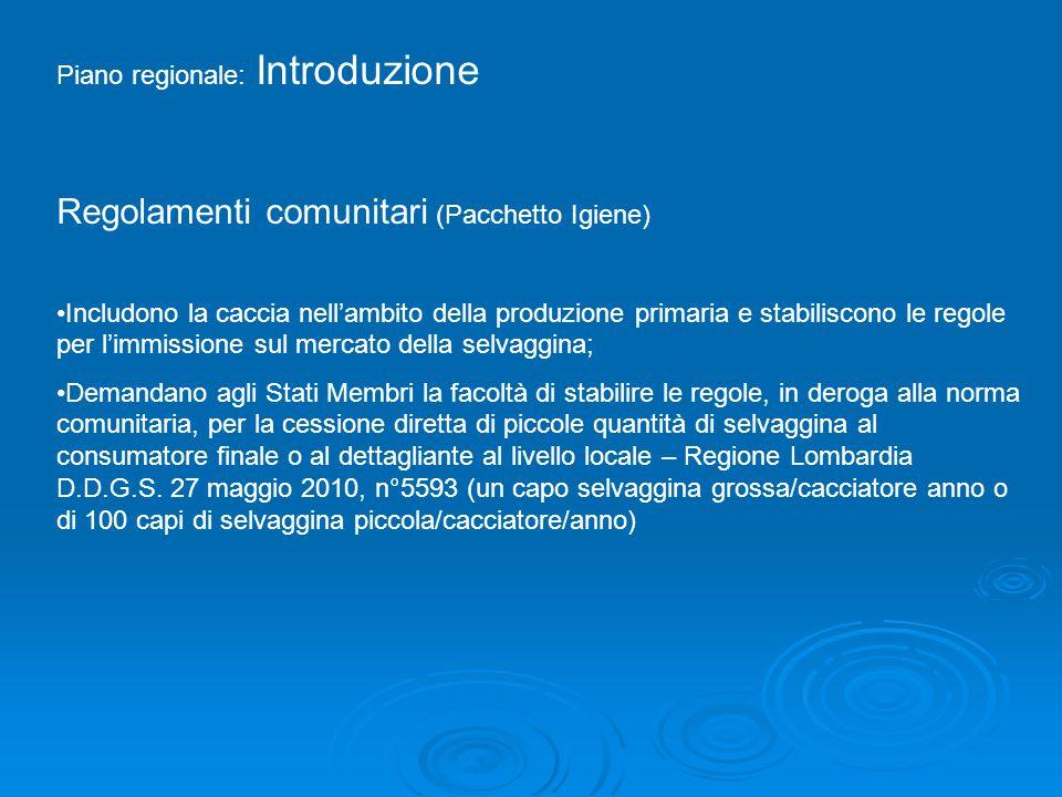 Regolamenti comunitari (Pacchetto Igiene)