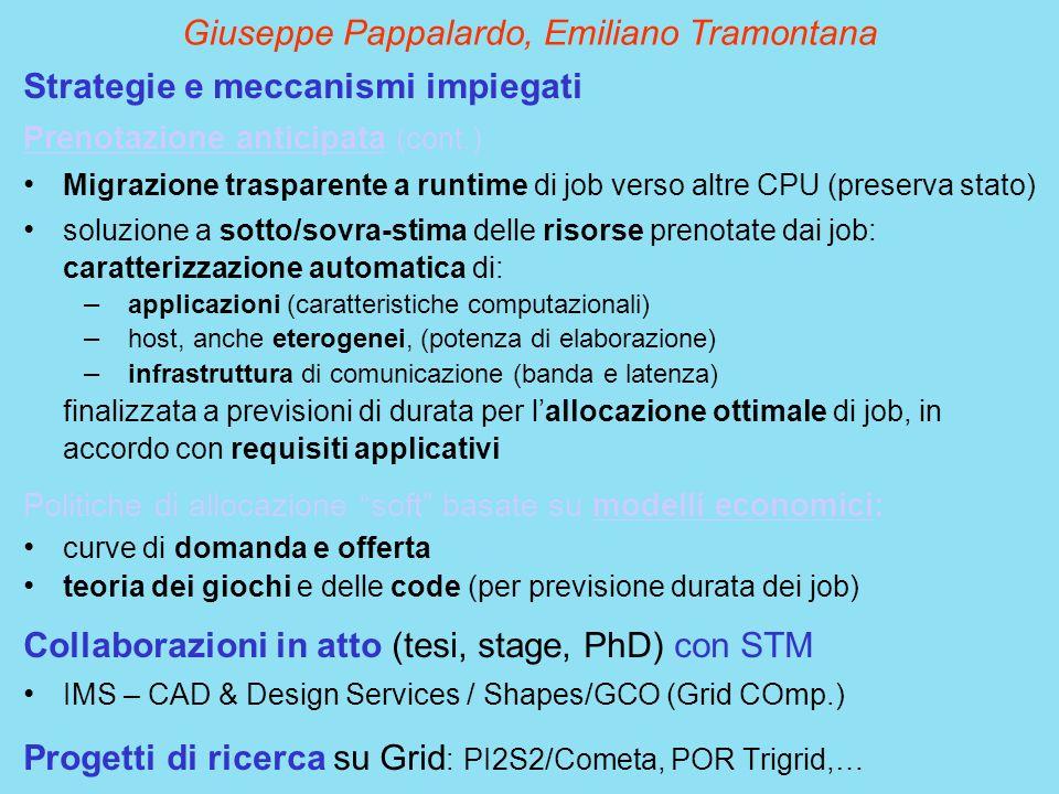 Giuseppe Pappalardo, Emiliano Tramontana