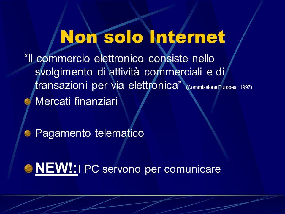 Non solo Internet NEW!:I PC servono per comunicare