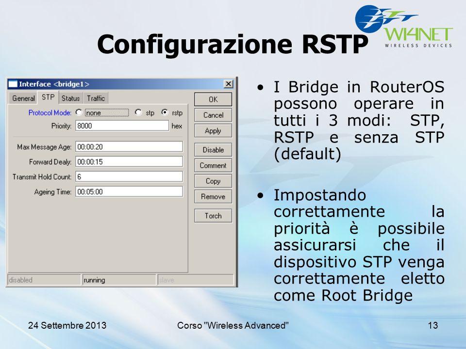 Corso Wireless Advanced
