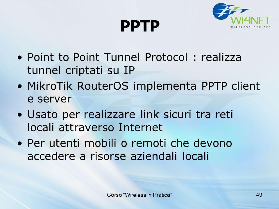 Corso Wireless in Pratica