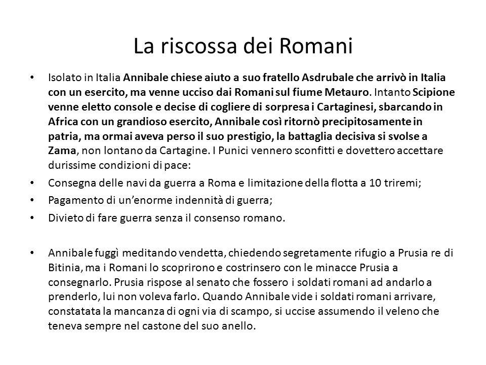 La riscossa dei Romani