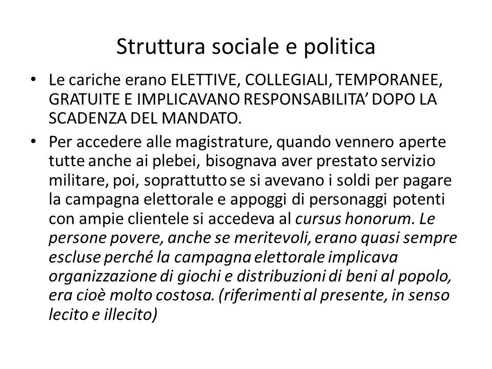 Struttura sociale e politica