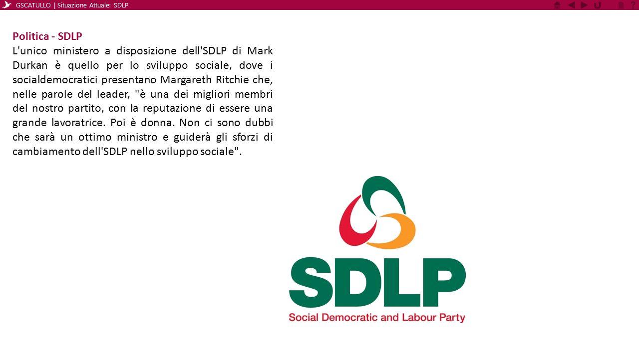GSCATULLO | Situazione Attuale: SDLP