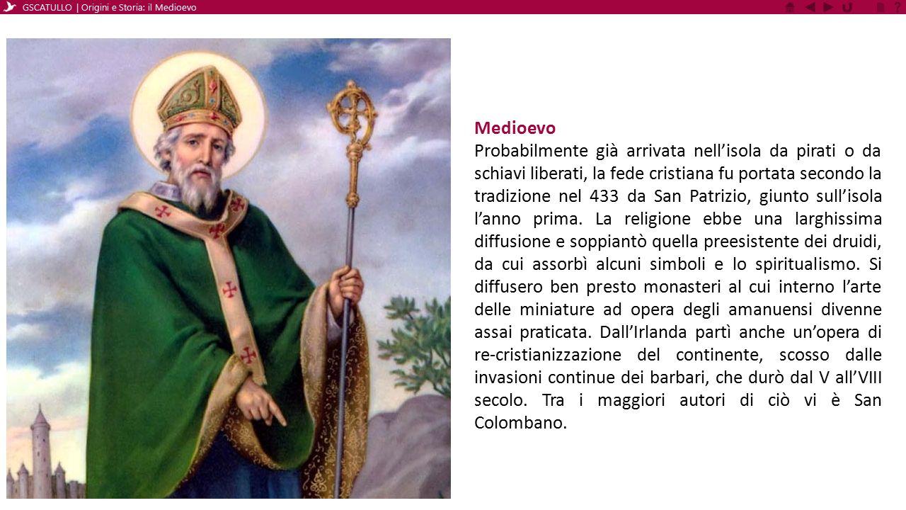 GSCATULLO | Origini e Storia: il Medioevo