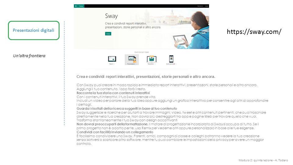 Presentazioni digitali