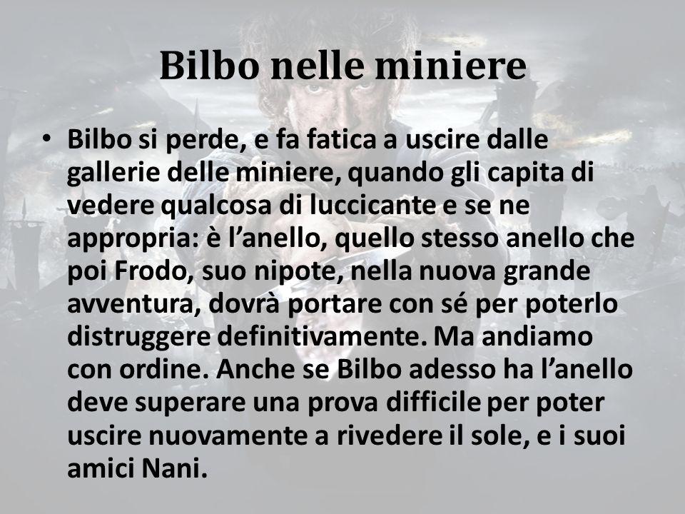 Bilbo nelle miniere