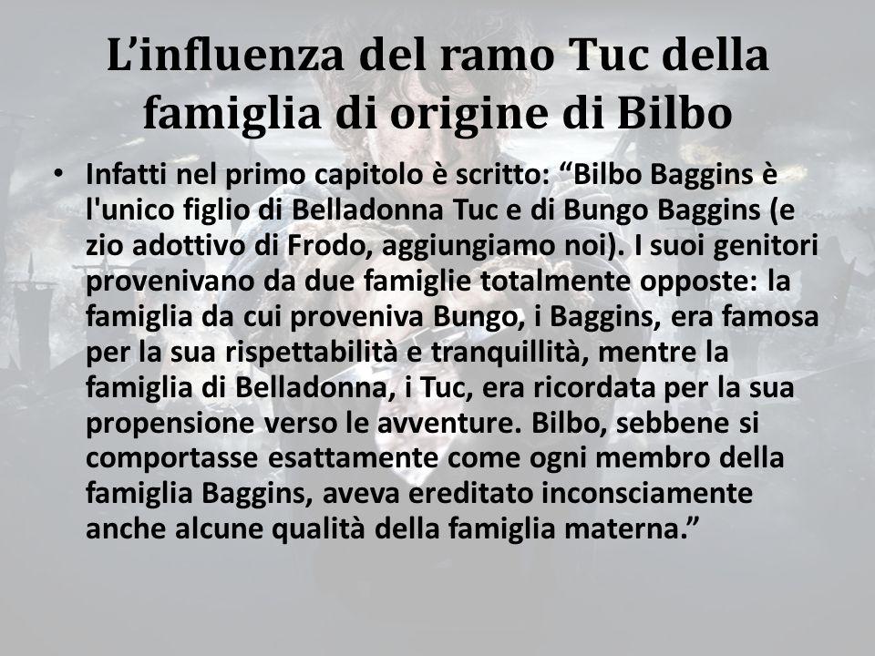 L'influenza del ramo Tuc della famiglia di origine di Bilbo