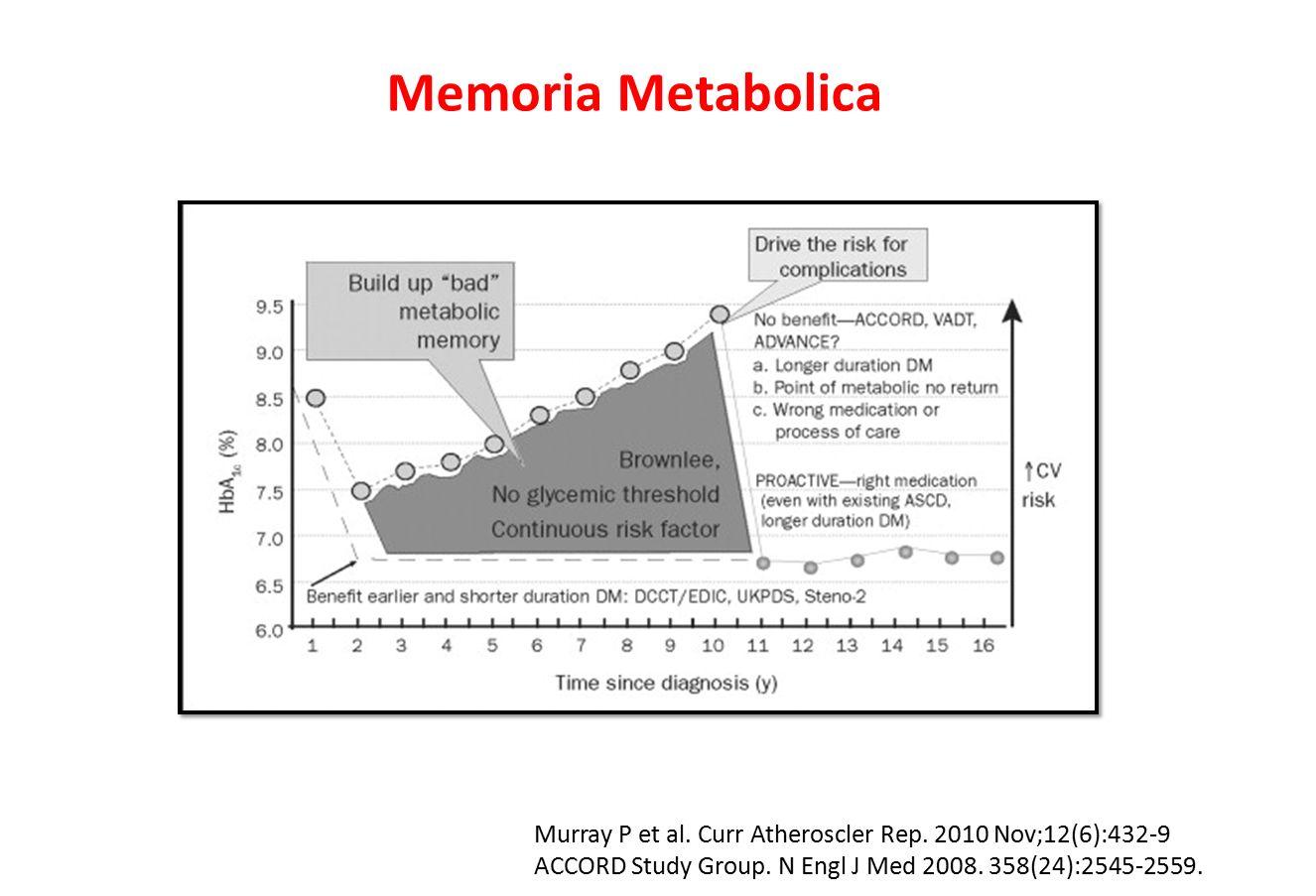 Memoria Metabolica