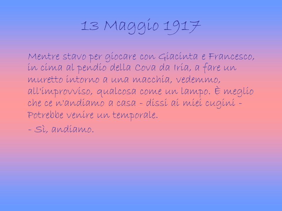 13 Maggio 1917