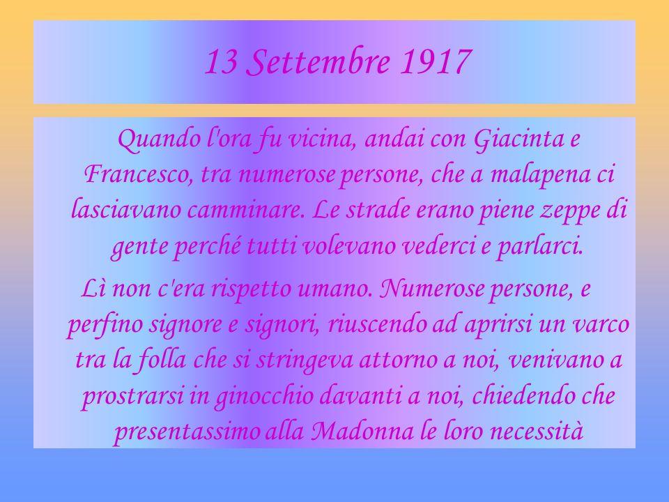 13 Settembre 1917