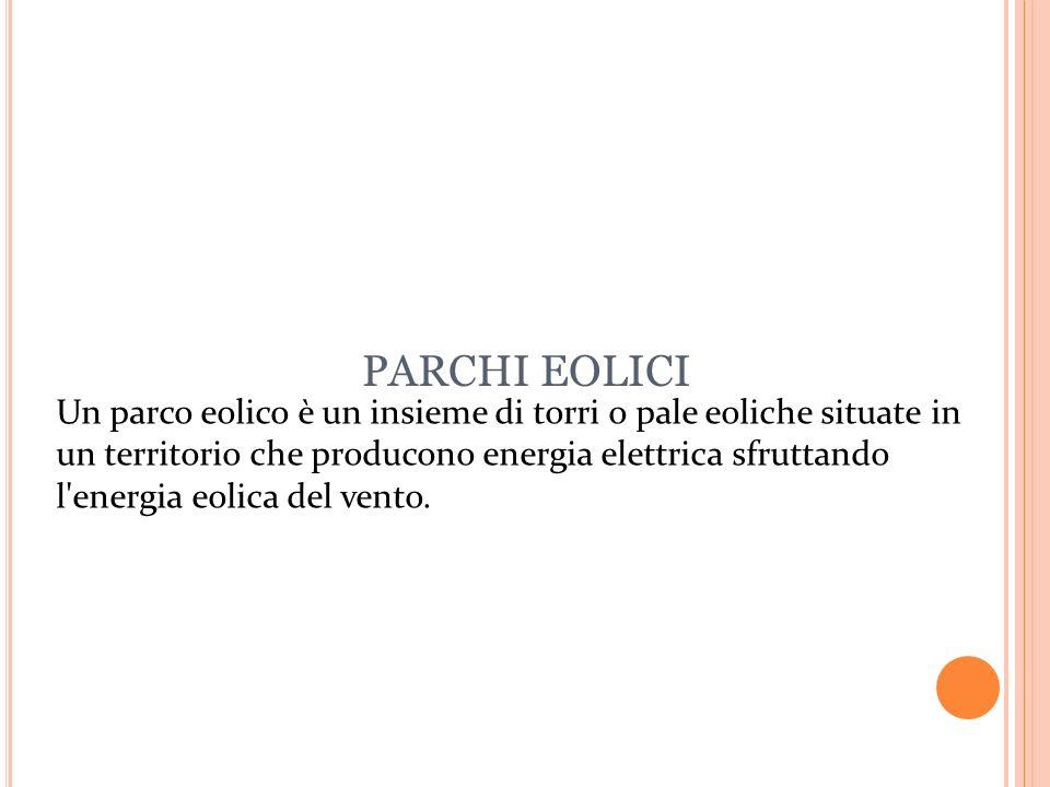 PARCHI EOLICI