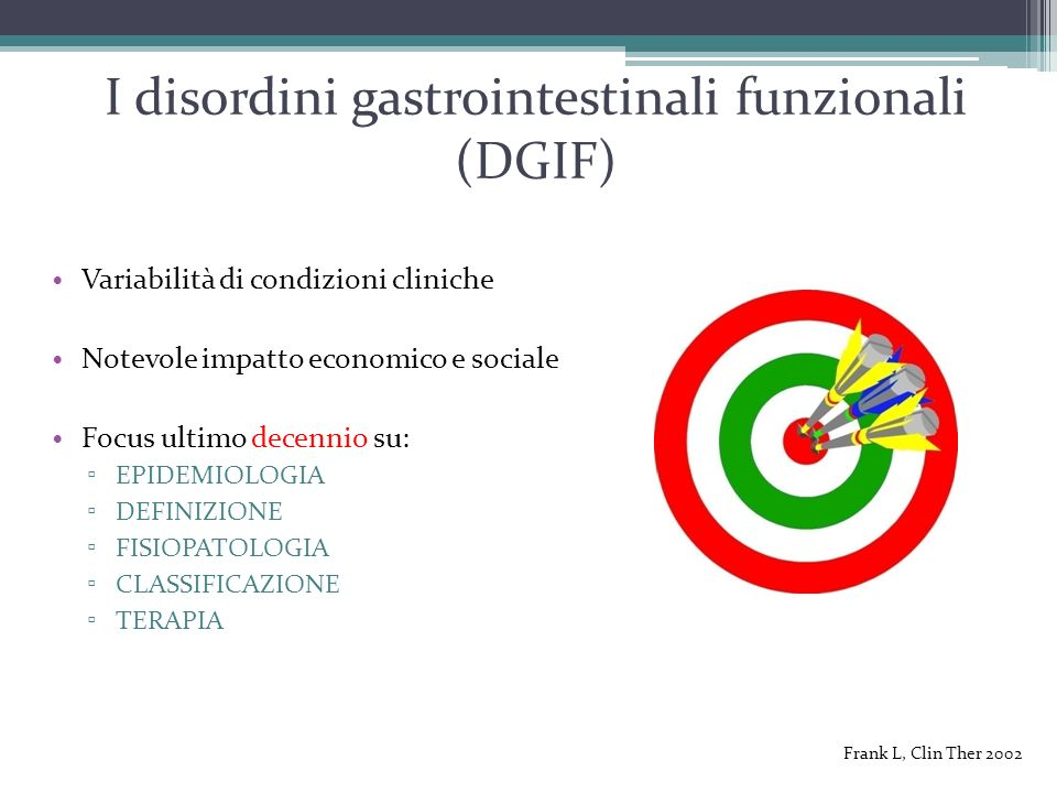 I disordini gastrointestinali funzionali (DGIF)