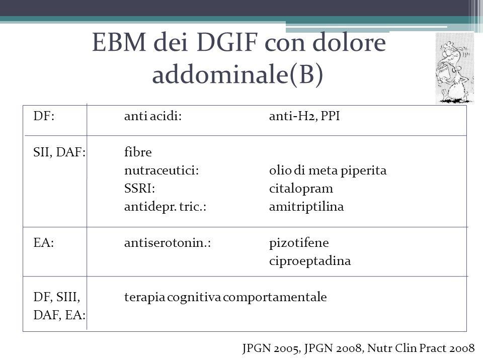 EBM dei DGIF con dolore addominale(B)