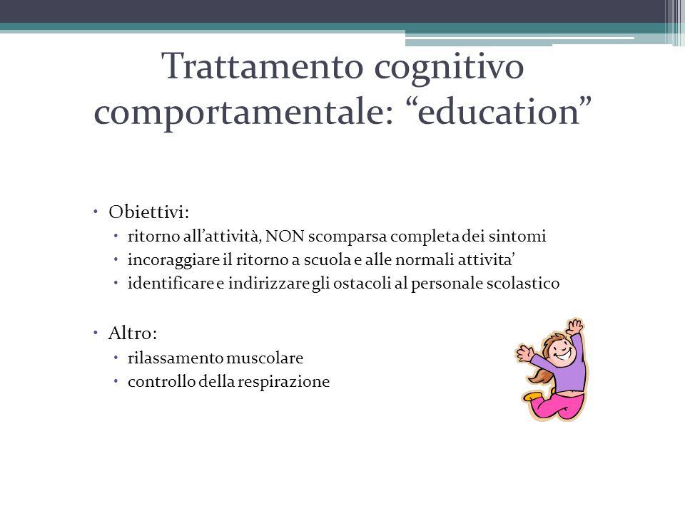 Trattamento cognitivo comportamentale: education