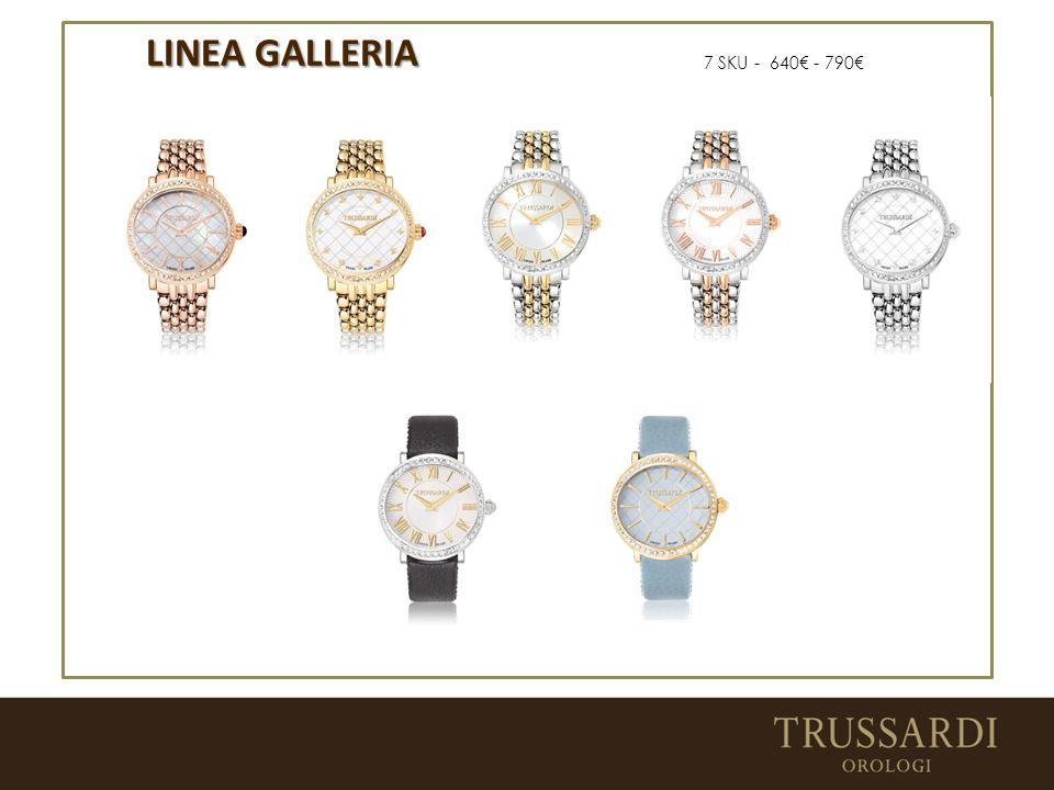 LINEA GALLERIA 7 SKU - 640€ - 790€