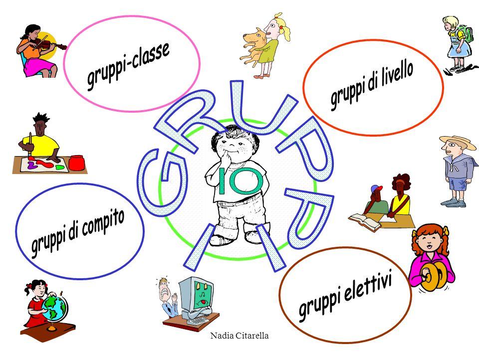 I GRUPPI IO gruppi-classe gruppi di livello gruppi di compito
