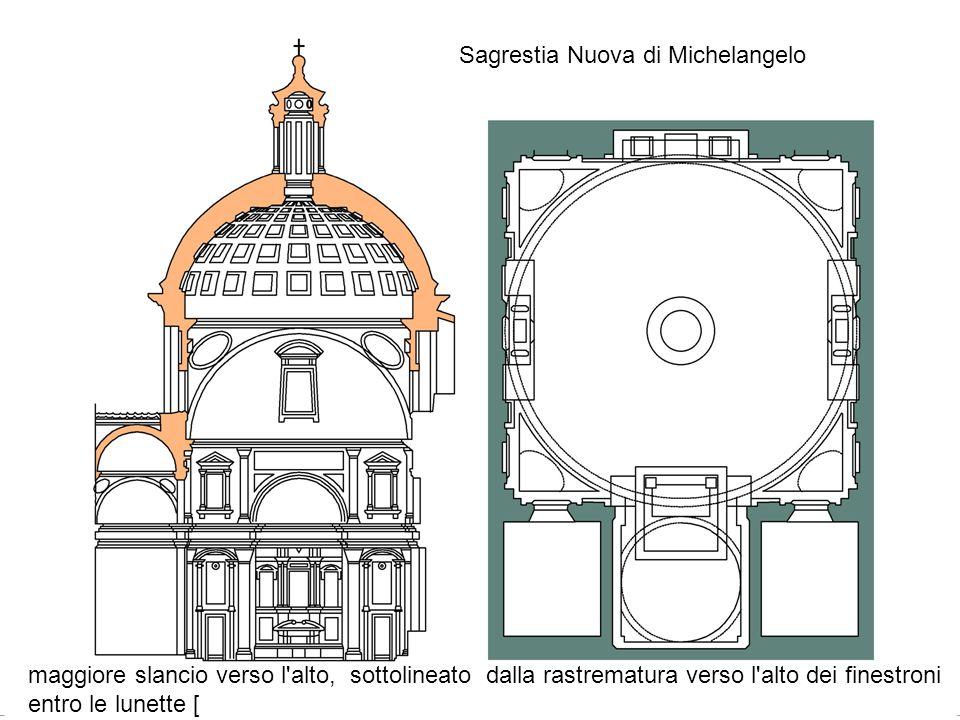 Sagrestia Nuova di Michelangelo