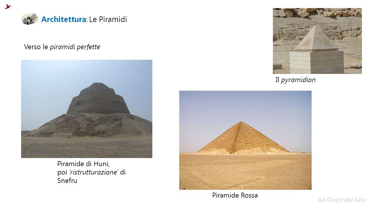 Architettura: Le Piramidi