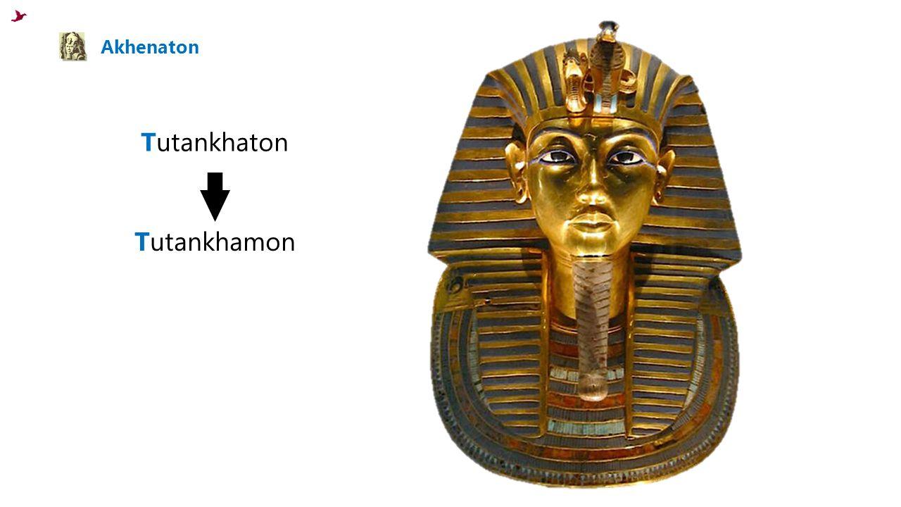 Akhenaton Tutankhaton Tutankhamon
