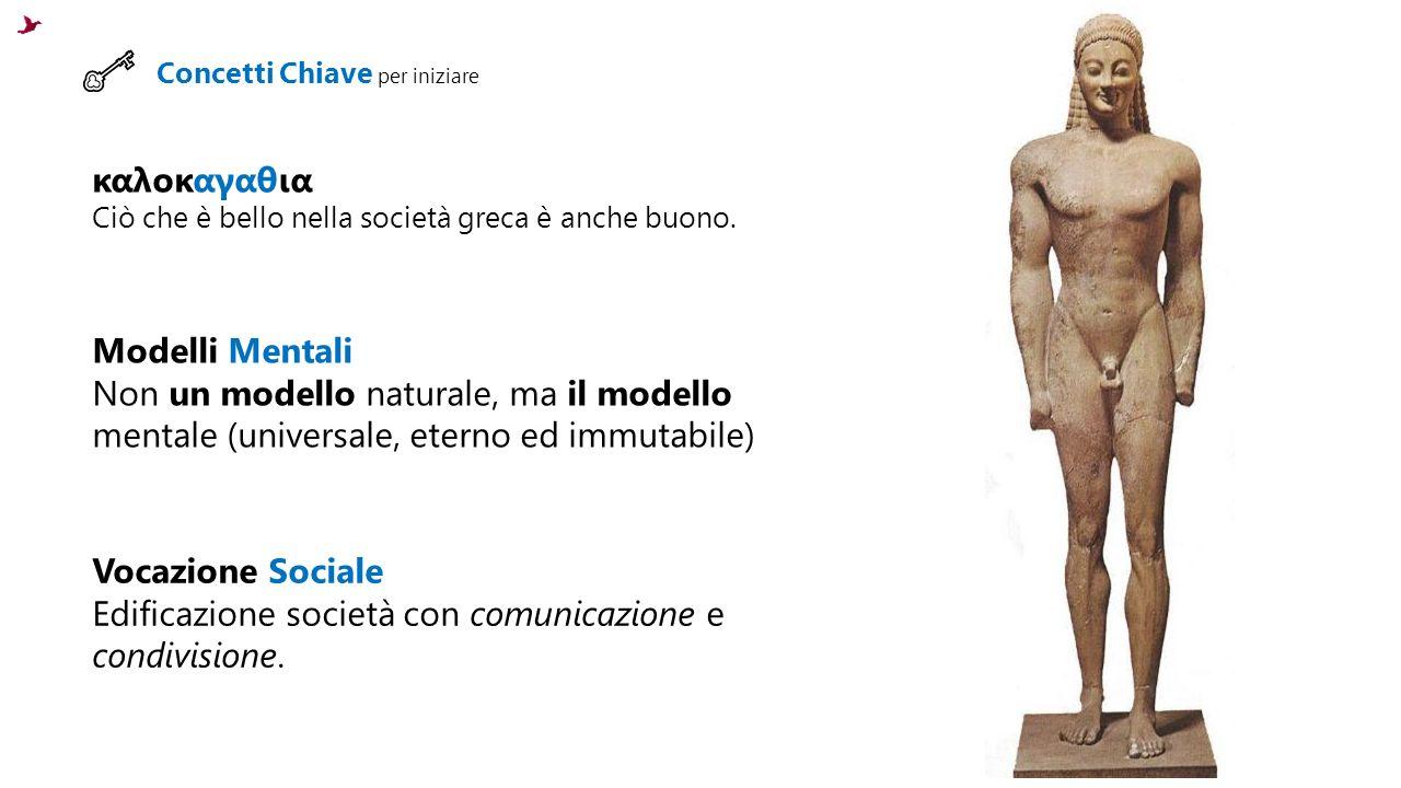 Edificazione società con comunicazione e condivisione.