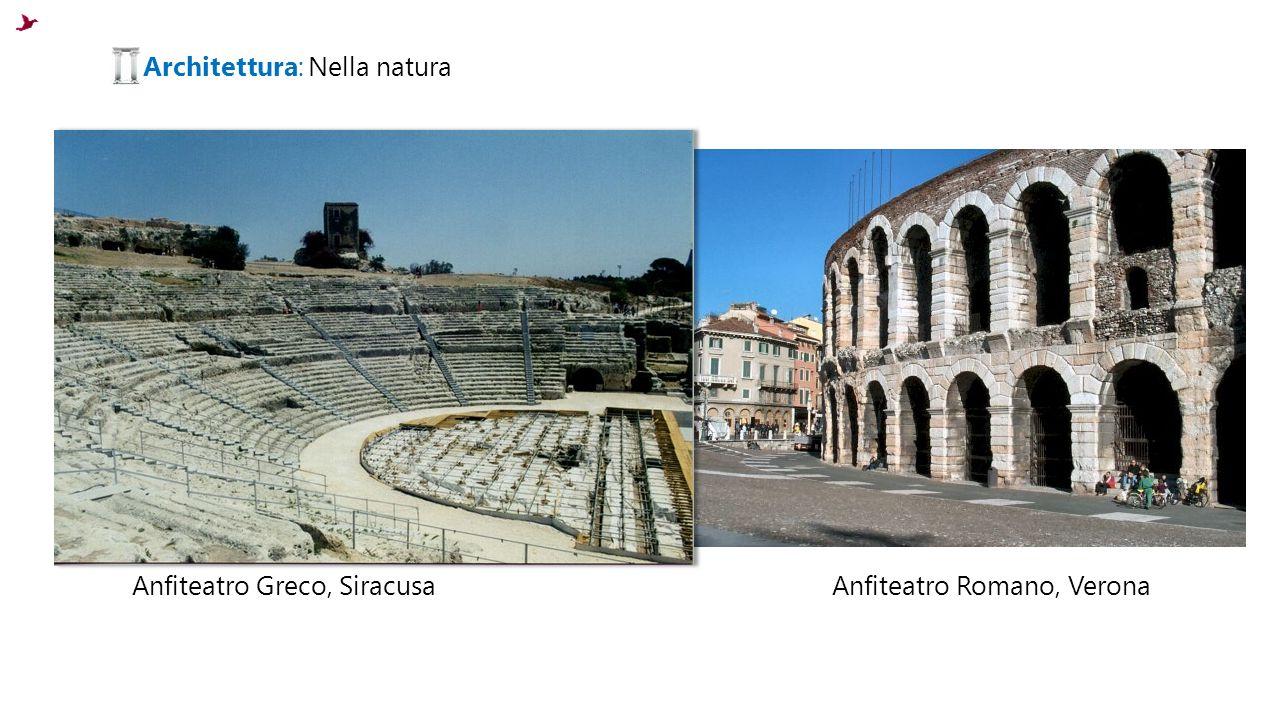 Architettura: Nella natura
