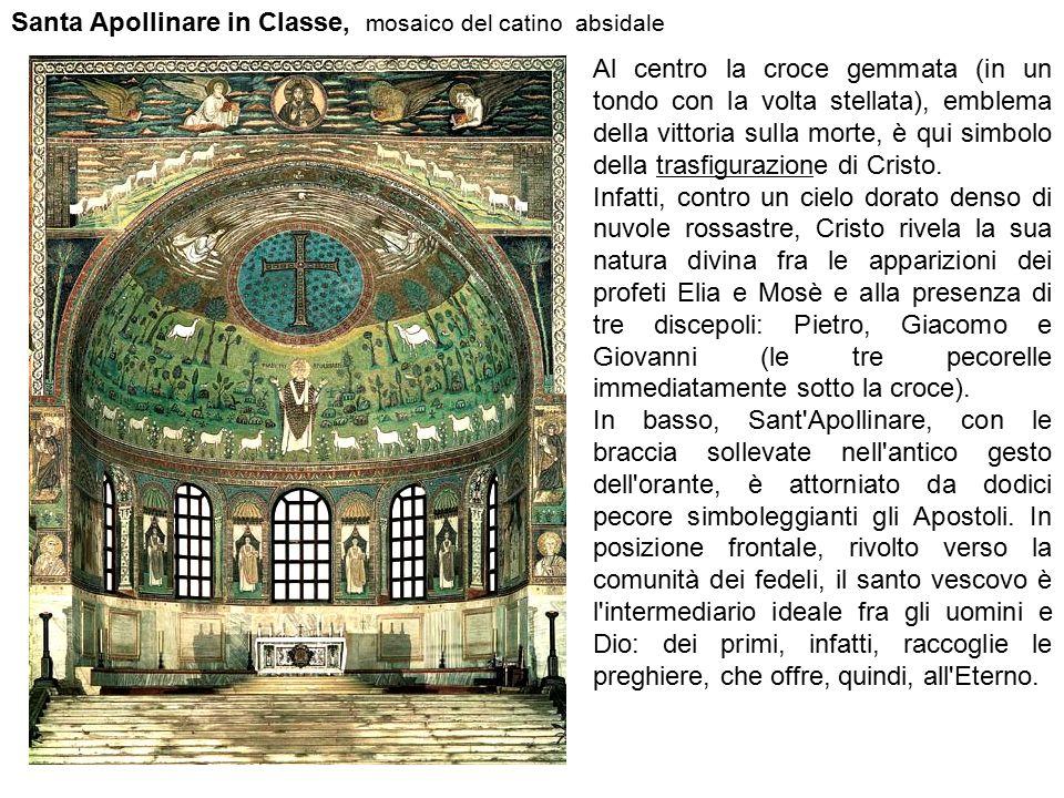 Santa Apollinare in Classe, mosaico del catino absidale