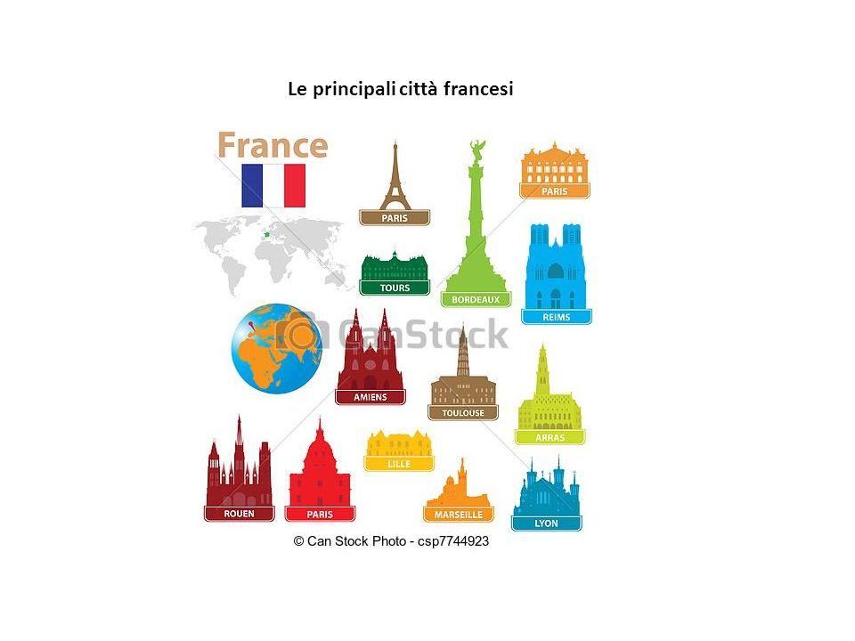 Le principali città francesi