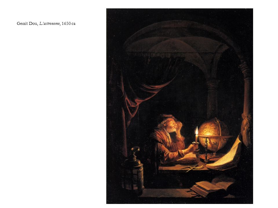 Gerrit Dou, L'astronomo, 1650 ca