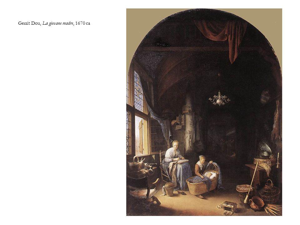 Gerrit Dou, La giovane madre, 1670 ca