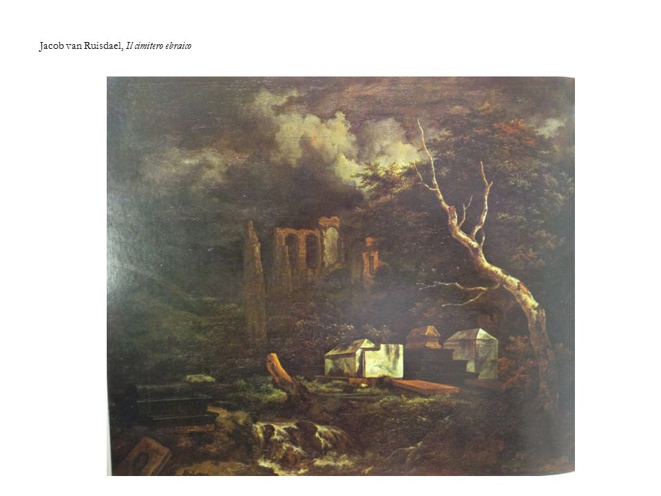 Jacob van Ruisdael, Il cimitero ebraico