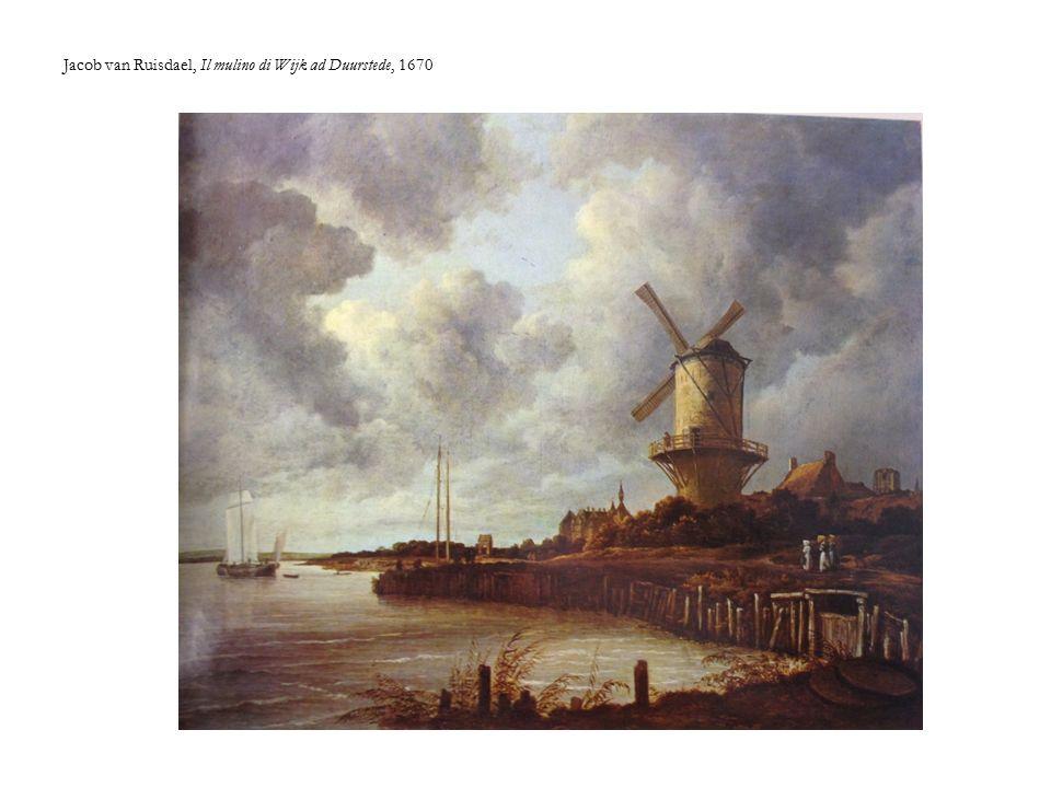 Jacob van Ruisdael, Il mulino di Wijk ad Duurstede, 1670