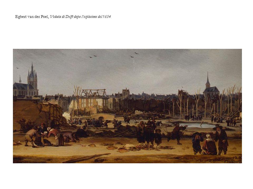 Egbert van der Poel, Veduta di Delft dopo l'esplosione del 1654