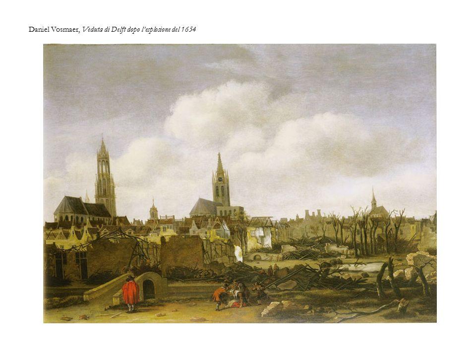 Daniel Vosmaer, Veduta di Delft dopo l'esplosione del 1654